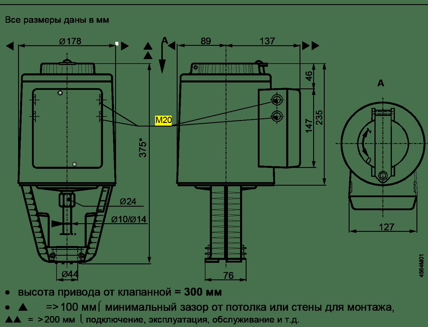 Siemens SKB размеры