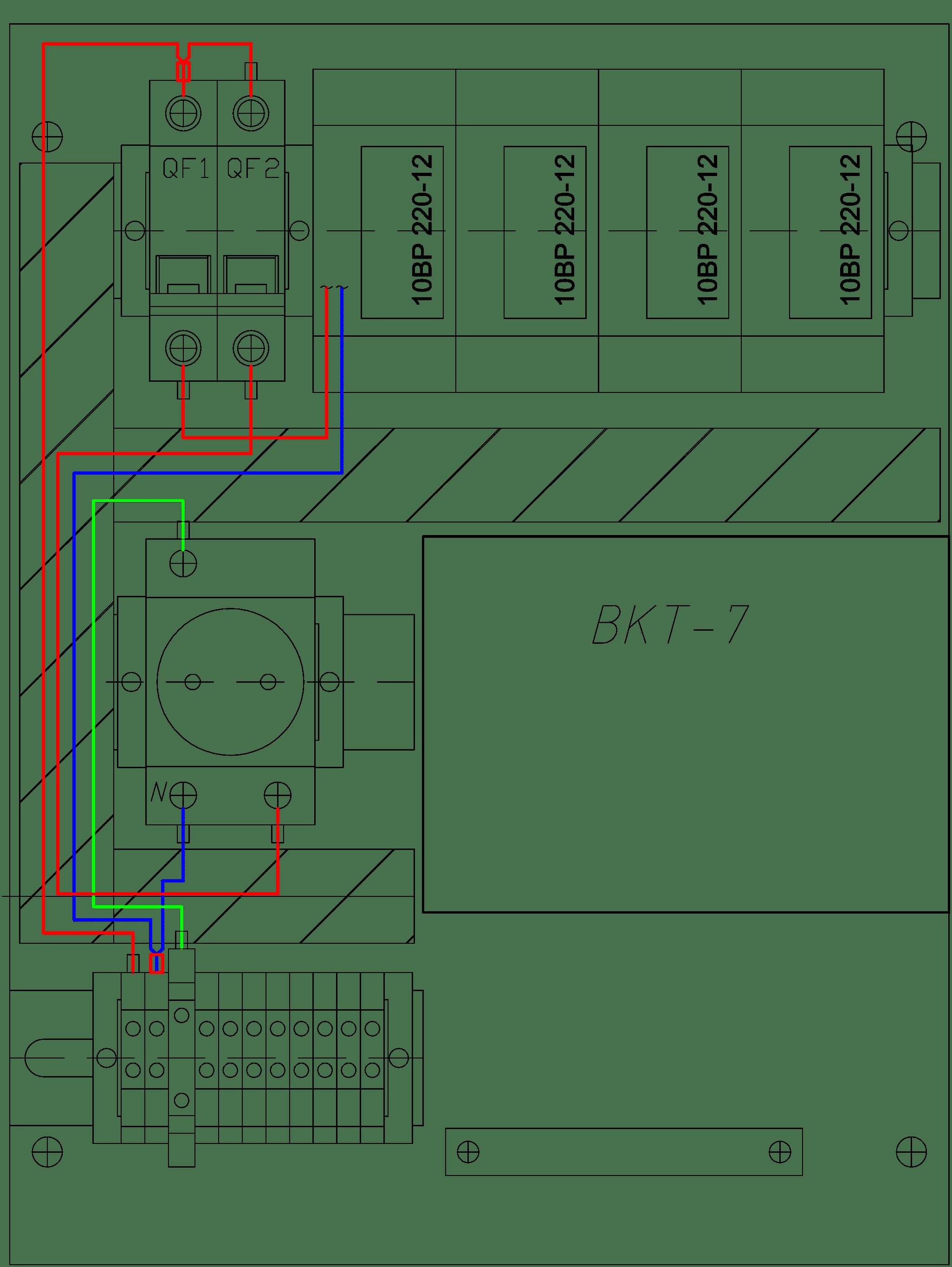 Комплектный шкаф учета для ВКТ-7
