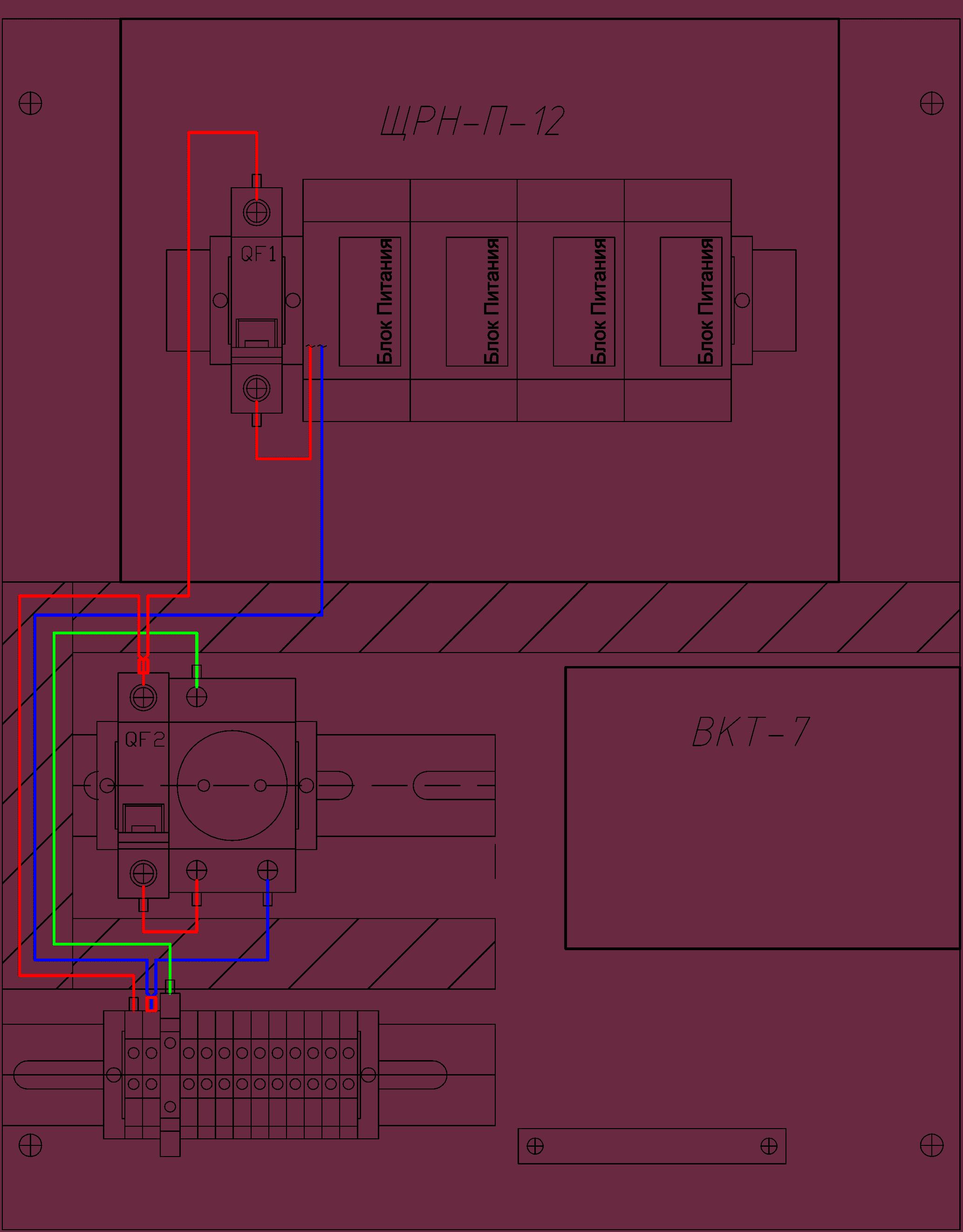 Комплектный шкаф учета теплоносителя